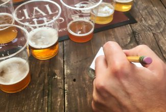 The art of blind tasting beer is tricky!