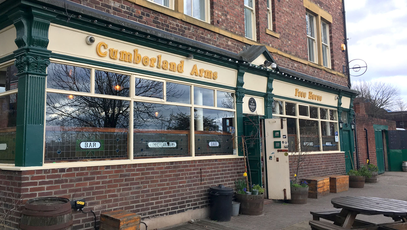 The Cumberland Arms, more than a pub…